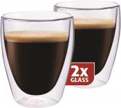 Dubbelwandig glazen Coffee per 2