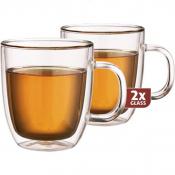 Dubbelwandig glazen Extra Tea per 2